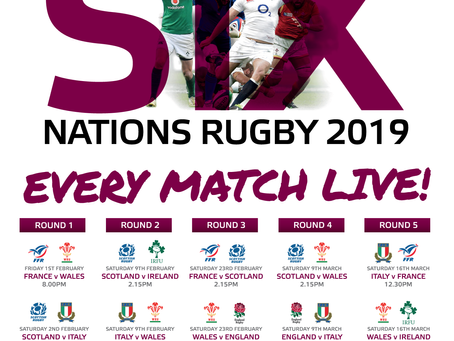 Six Nations is coming....