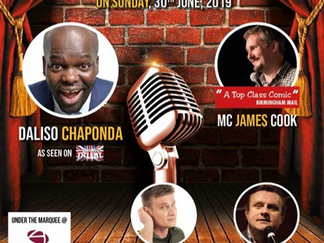 Comedy under the Marquee!