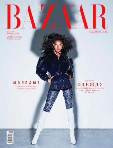Jasmine Tookes for Harper's Bazaar KZ by