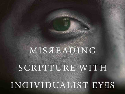 Review: Misreading Scripture with Individualist Eyes (IVP, 2020)