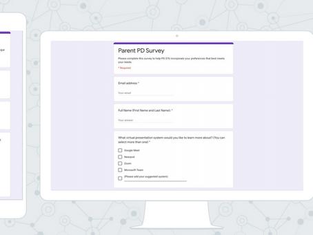 To Do: Complete Parent PD Survey