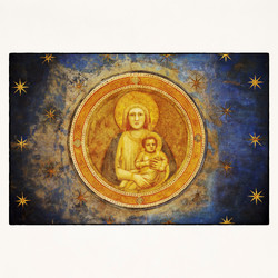 20x20 Madonna and child by Giotto