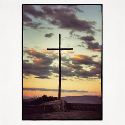 20x20 La Verna Cross
