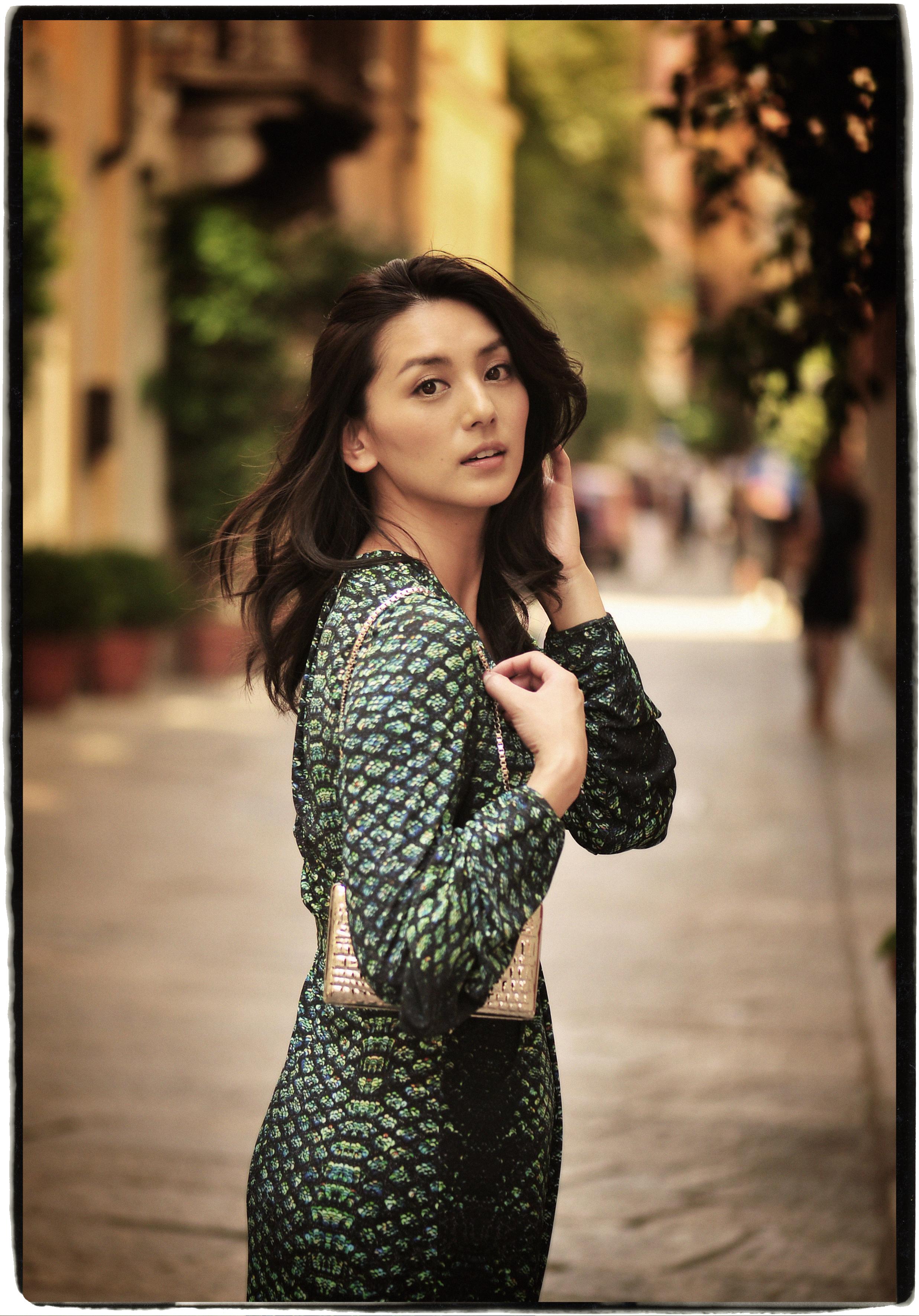Sayo Aizawa, Japanese model
