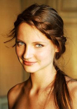 Greta smiling