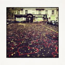 20x20 0021 Love Square in Autumn
