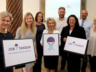Wir präsentieren www.JOBTANDEM.de - Den Karriere-Service für Paare