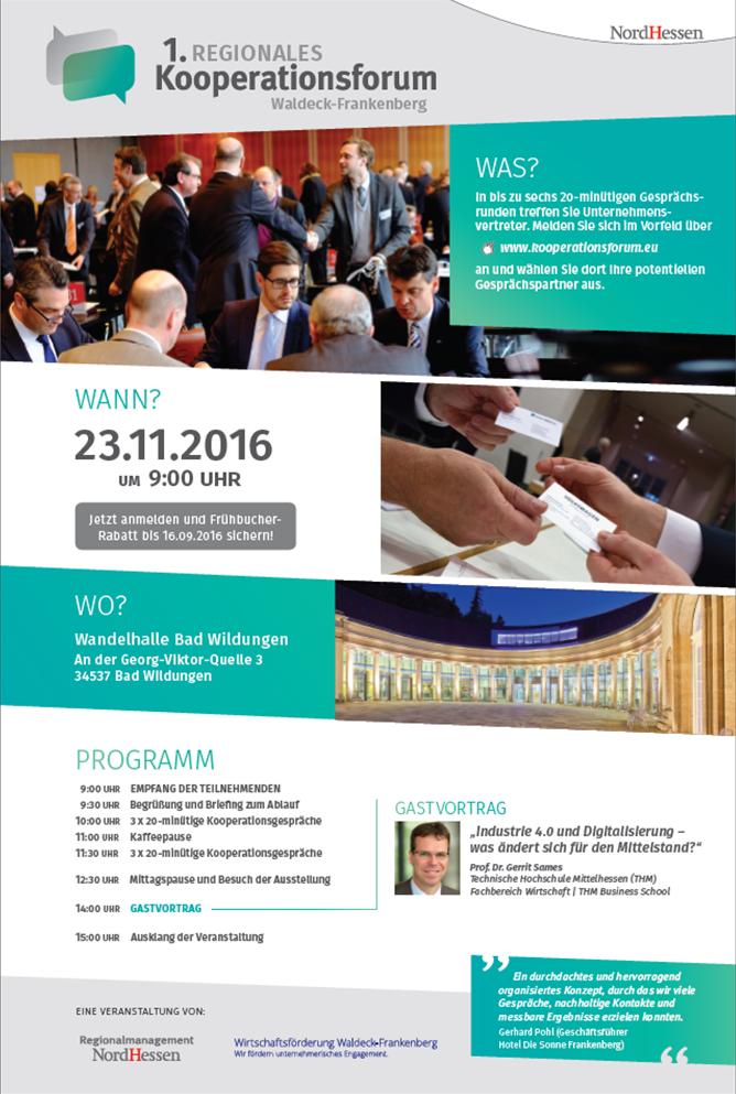 Informationen zum ersten Kooperationsforum in Waldeck-Frankenberg