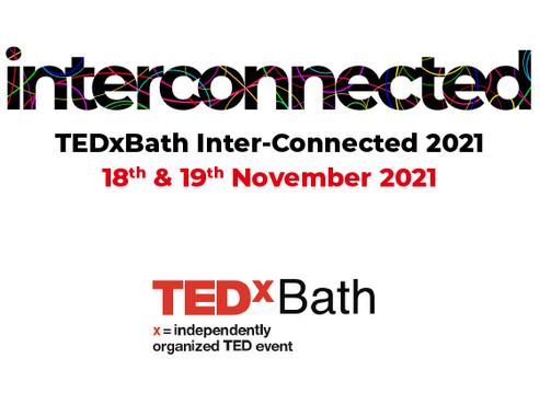 TEDxBath announces Inter-Connected 2021