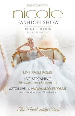 Nicole Fashion Show collection 2018