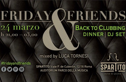 Friday&Friends - back to Clubbing