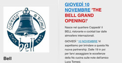 BELL THE GRAND OPENING