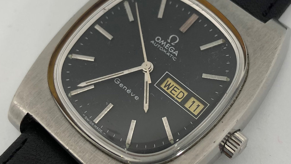 Omega Geneve Automatic Chronometer watch. 1970s.