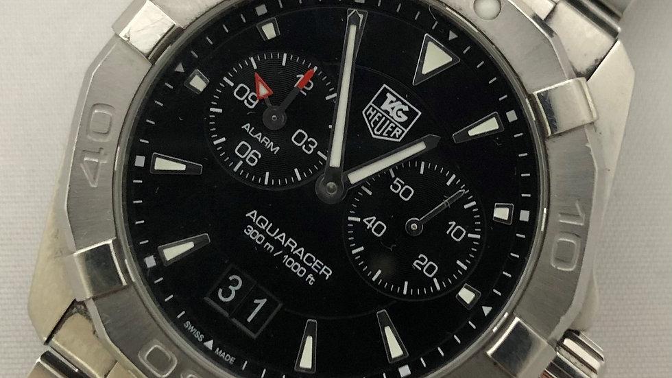 TAG Heuer Aquaracer Alarm Quartz Watch 2017. Pre-owned.