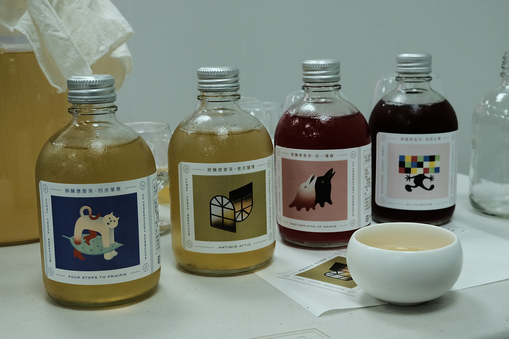 Yu Fermentory kombucha flavors