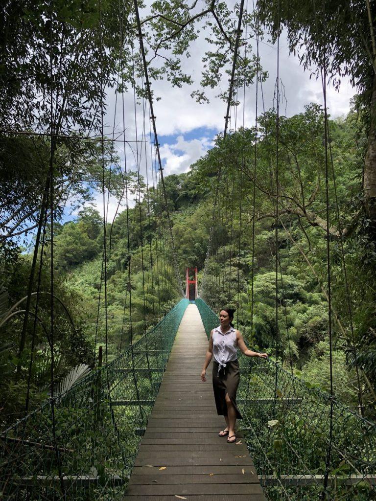 Hana kitchen suspension bridge