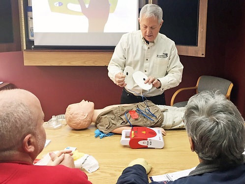 First Aid/CPR/AED