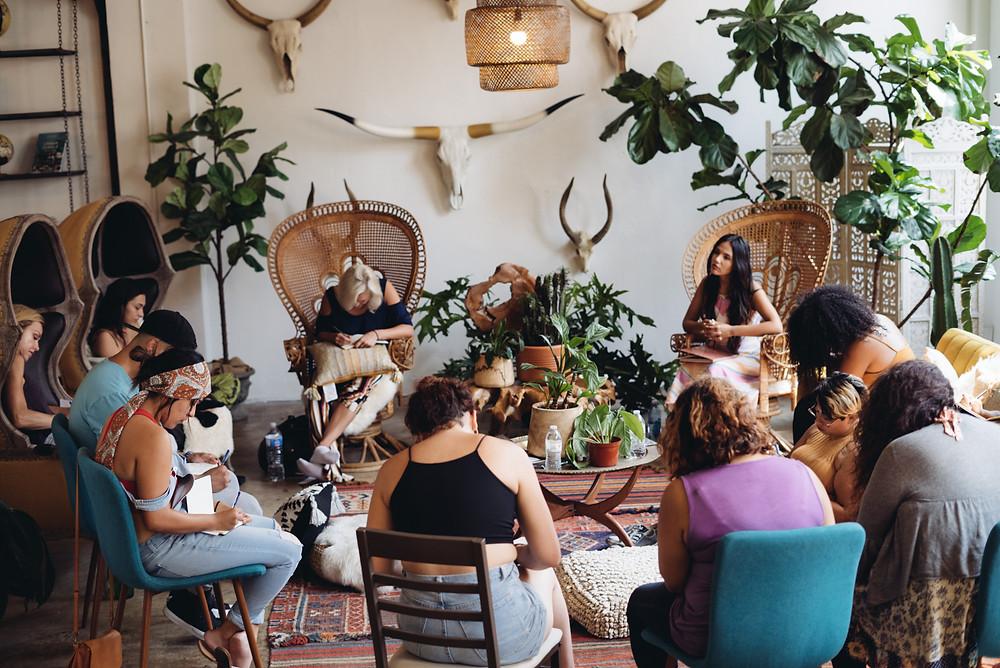 Self-Love Integration Workshop. Angie Sanchez.
