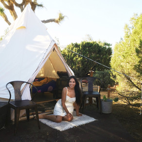 24 Hours in Palm Springs, Glamping + Sister Time