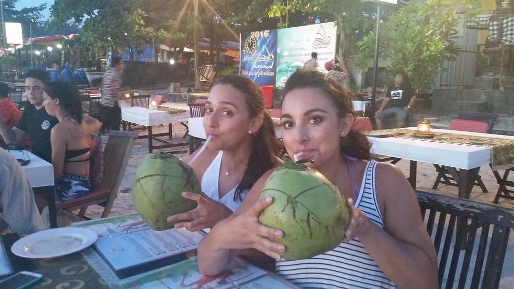 coconut milk, fresh