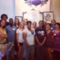 Another great day of training yesterday! Excited for many of these folks to begin teaching and volun