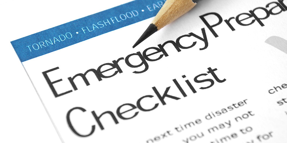 Emergency Preparedness with COVID-19 Considerations with  Meghan Manke & Jeff McKenna (2 Hour)