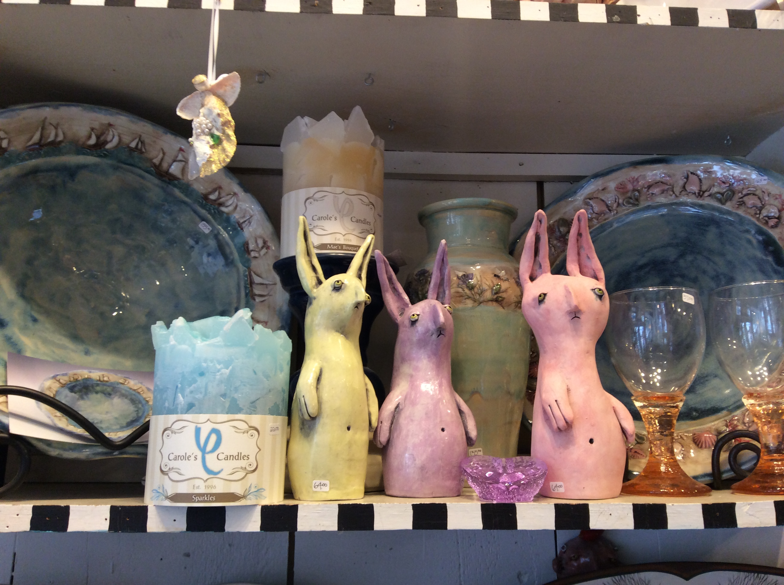 Glum Bunnies and Jen Stein
