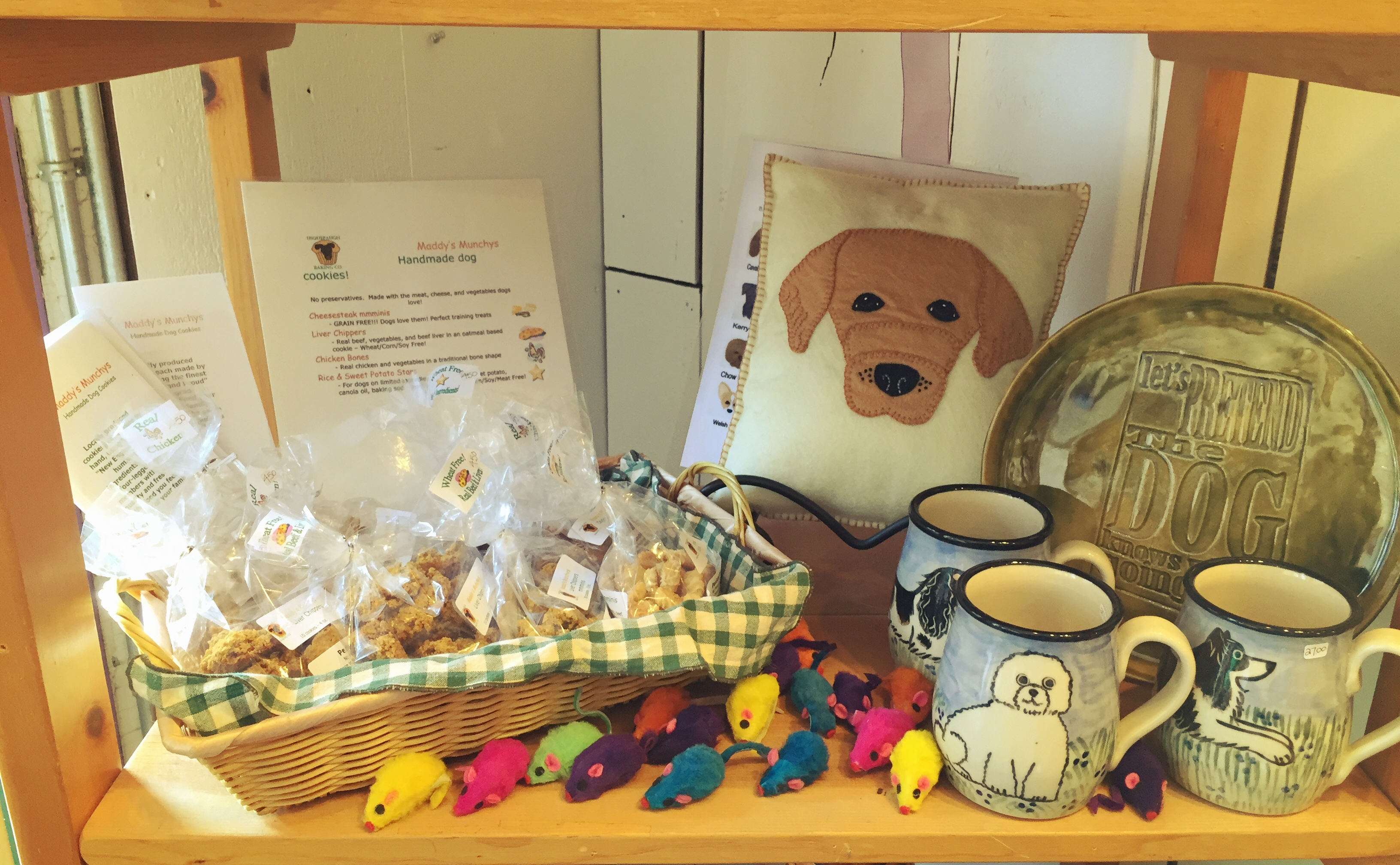 Locally made dog treats!
