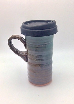 Clay Path Studio - Travel Mug - Avocado