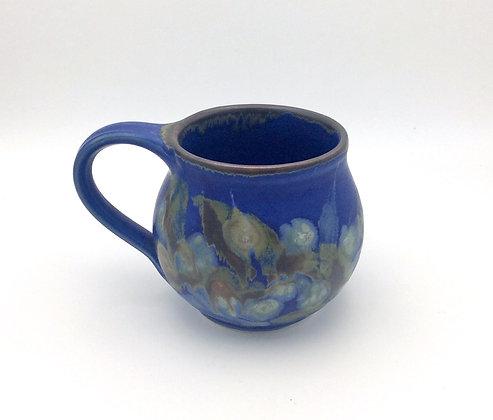 Butterfield Pottery Mug - Blue Short