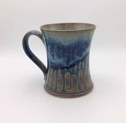 Ray Pottery - Concave Mug - Blue