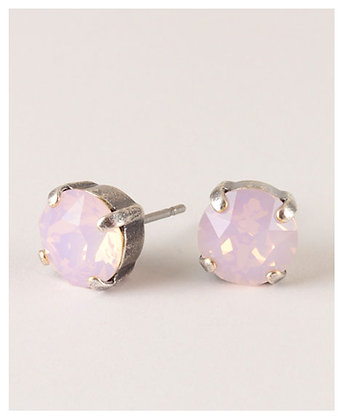 Atlantis Berlin Classic Stud - 'Rose Water Opal'