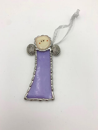 Pine Tree Glassworks Angel - Purple