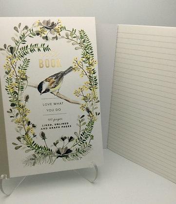 Papaya Art Journal - Chickadee