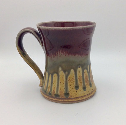 Ray Pottery - Concave Mug - Red