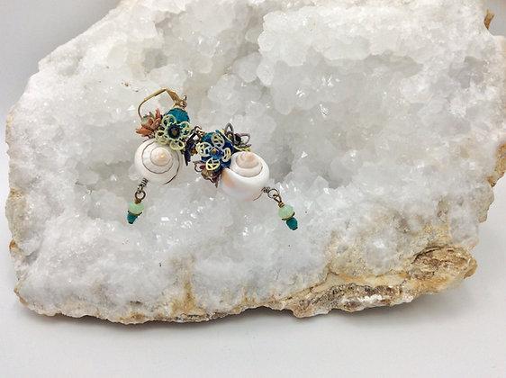 BendyWho - Sea-Shell Earrings
