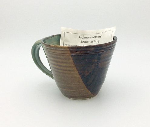 Holman Pottery - Brownie Mug - Green