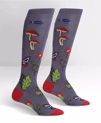 Sock It To Me - Encyclopedia Botanica Knee-High Socks
