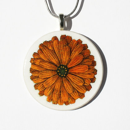 Retropage Necklace - Zinnia