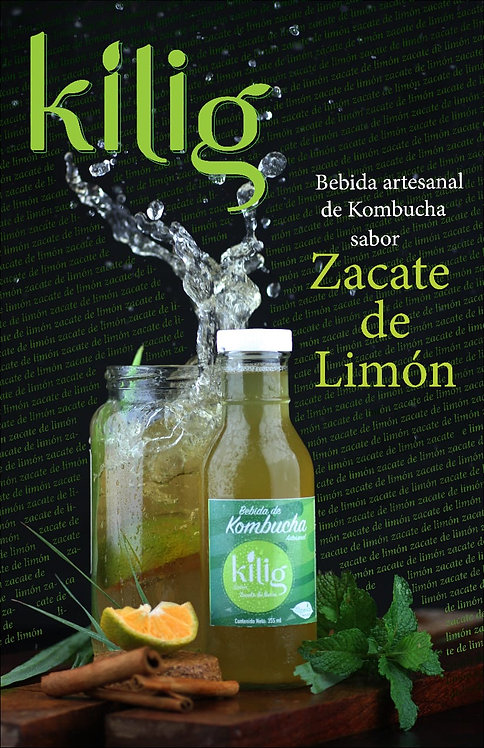 Lemon grass Kombucha