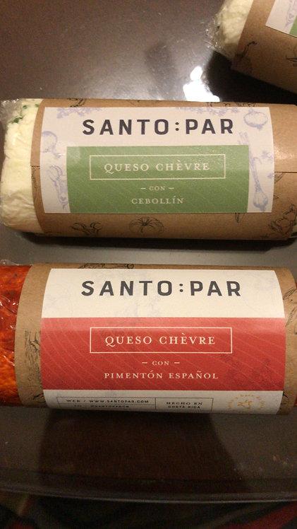 Queso chevre pimentón español