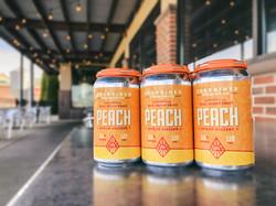 Peach Seltzer 6Pack Patio