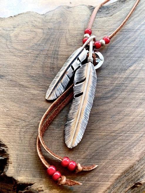 Custom Feather Necklace-001