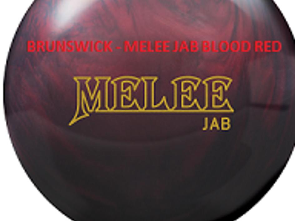 BRUNSWICK - MELEE JAB BLOOD RED REVIEW