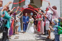 Hochzeitsfotografie Rheinau, Spalier