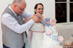 Hochzeitsfotografie, Hochzeitstorte