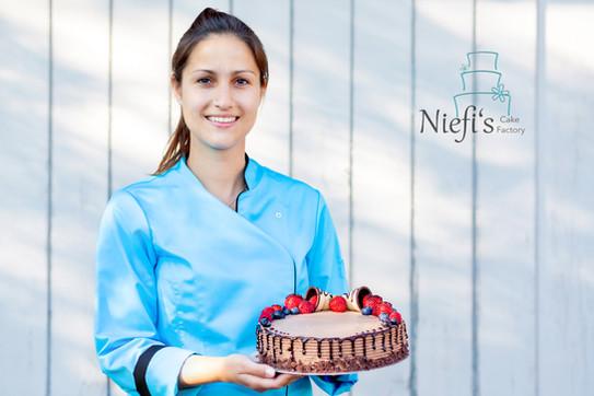 Werbekampagne: Niefis Cake Factory
