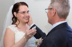 Hochzeitsfotografie, Rheinau, Vater