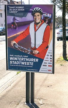 Werbekampagne Stadtweste_Winterthur
