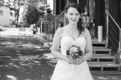 Hochzeitsfotografie Küsnacht, Braut